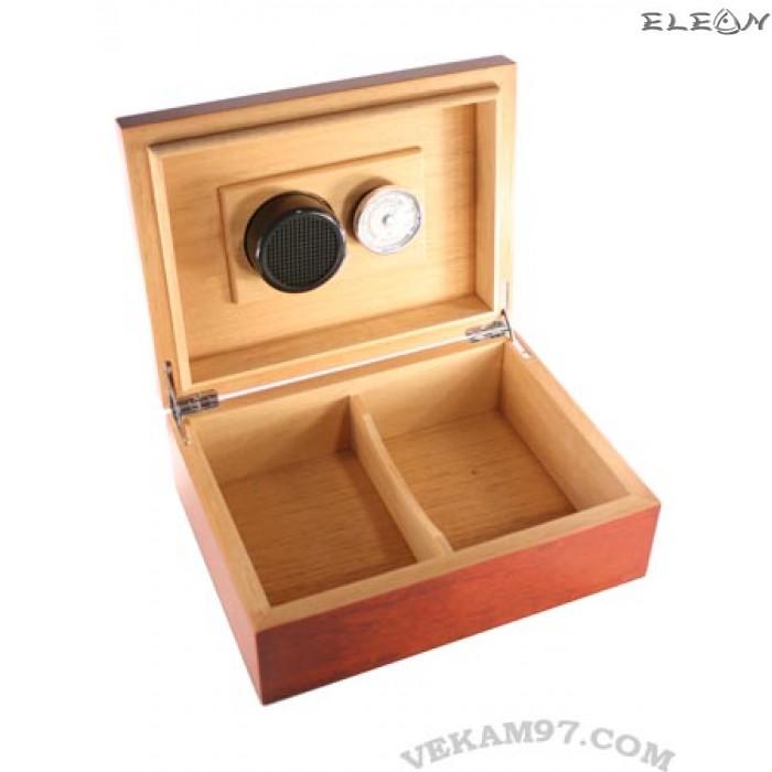 Кутия за пури - хумидор подходящ за няколко сорта пури, до 25 пури, махагон, ZP009471