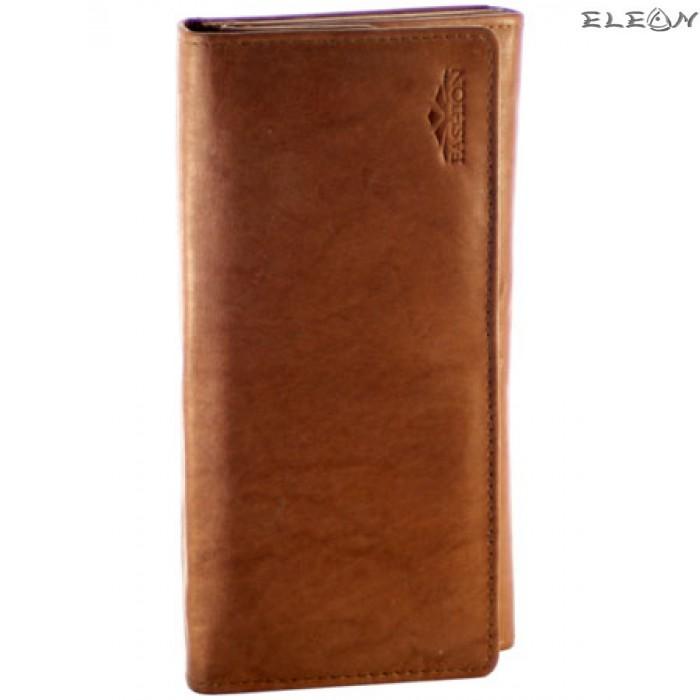 Дамски портфейл от естествена кожа - 701012