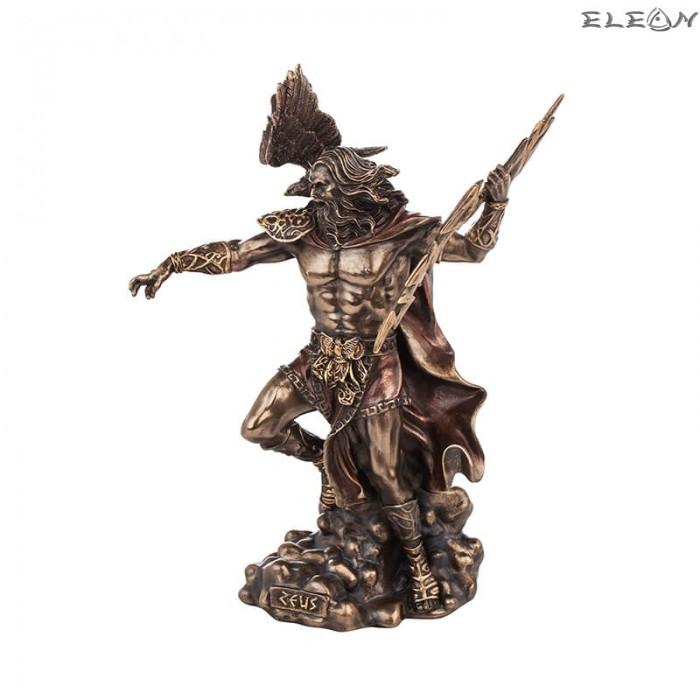 Статуетка бог Зевс 22х15см, изработена от полирезин