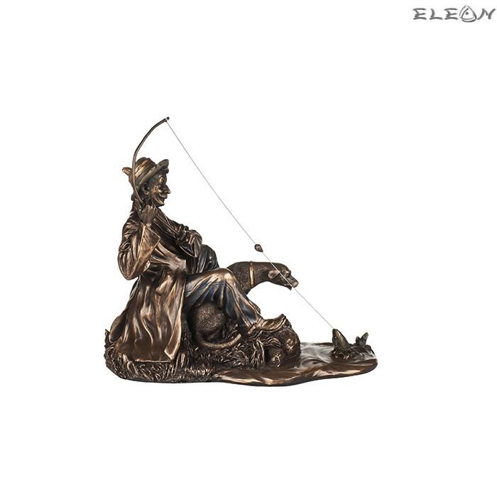 Статуетка Рибар 17см, изработена от полирезин
