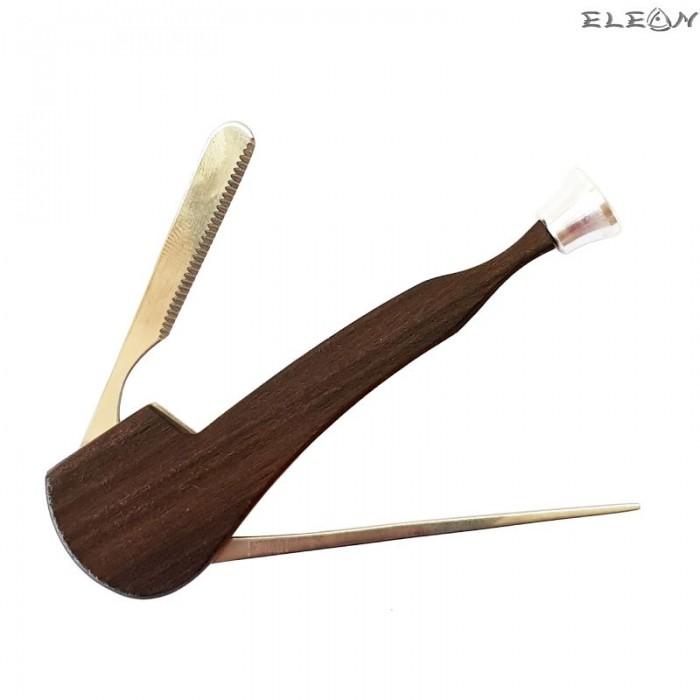Инструмент за почистване на лула 3в1