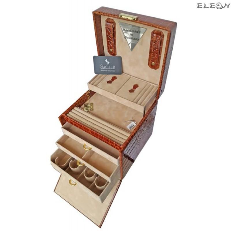 Кутия за бижута от естествена кожа SACHER - 816118