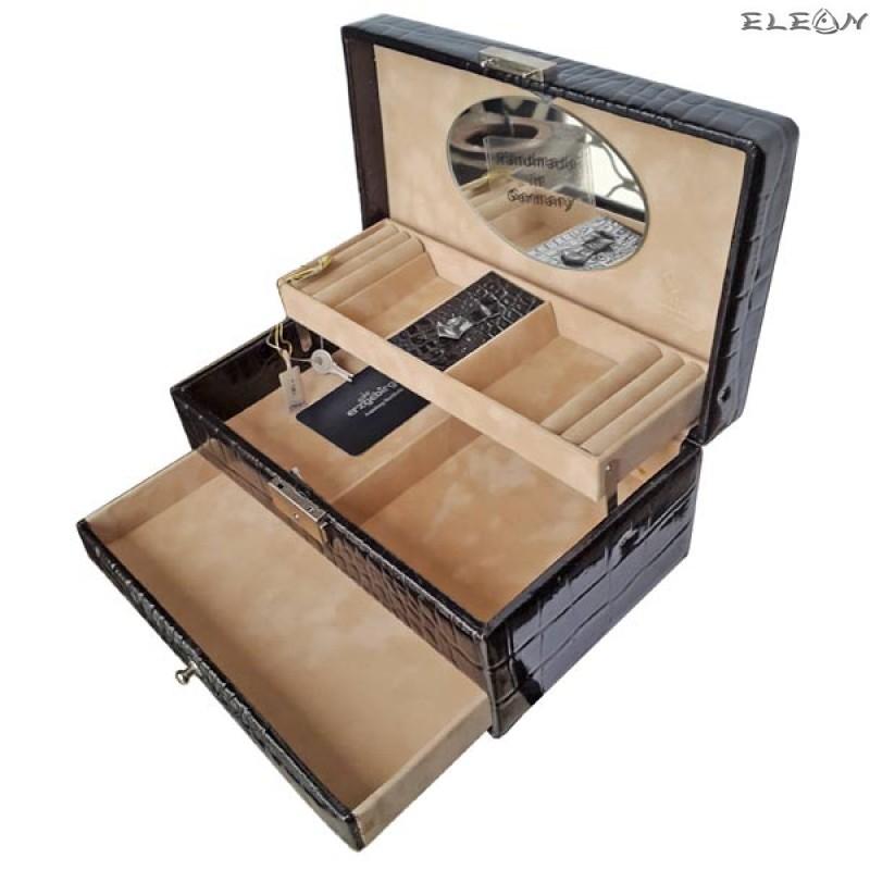 Кутия за бижута от естествена кожа SACHER - 816196