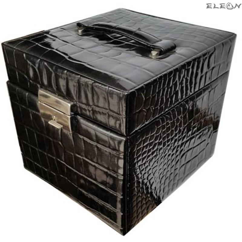 Кутия за бижута от естествена кожа SACHER - 816212