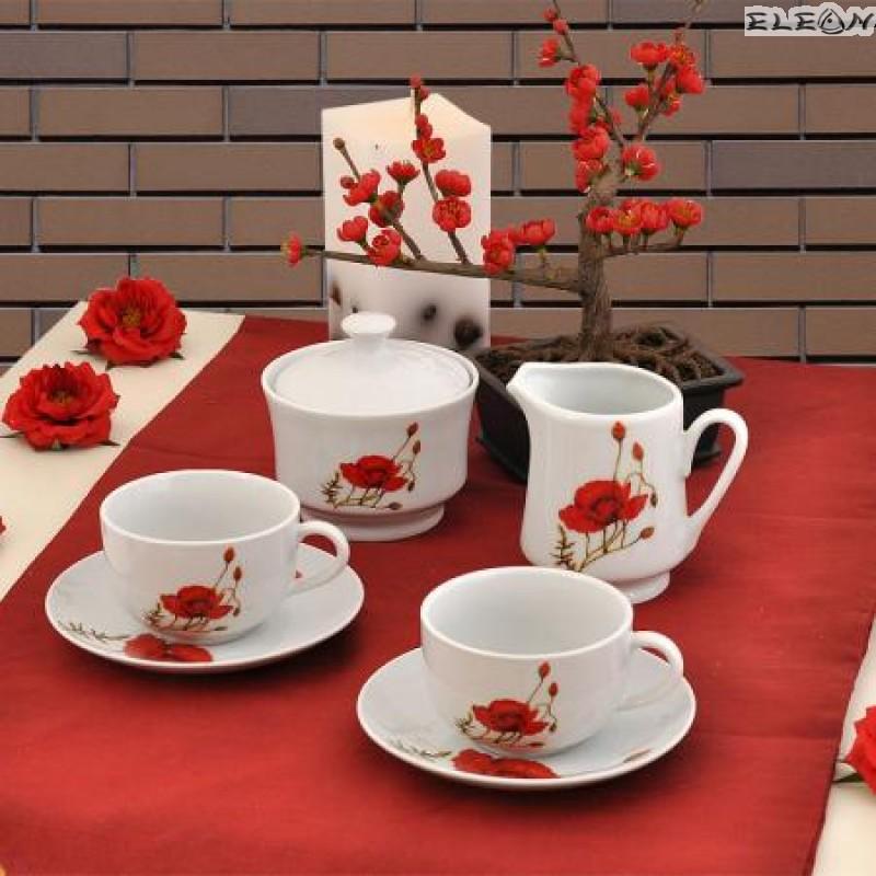 сервиз за Кафе 15 части - Poppy