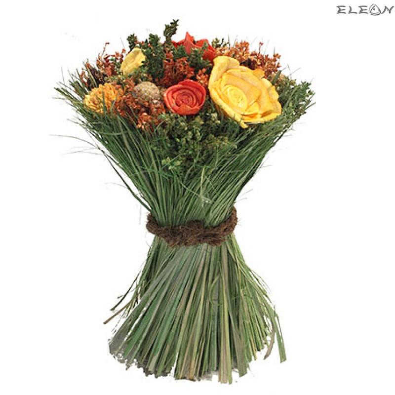 Декоративни цветя рози микс DEL115 - 26см