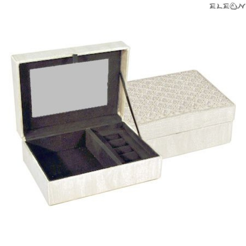 Кутия за бижута Сребро 18см - DIM006