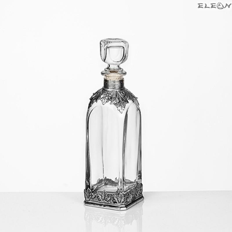 Стъклена бутилка за Уиски - F30173