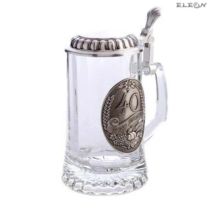 Халба за бира - 40 годишнина - 0.5 l