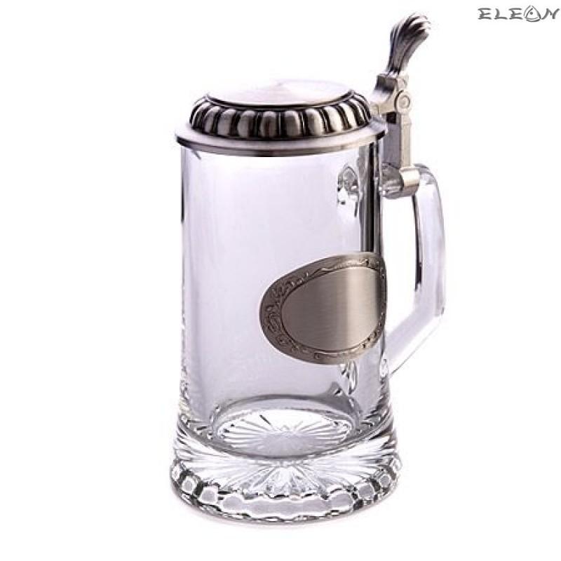 Халба за бира с място за гравиране - 0.5 l