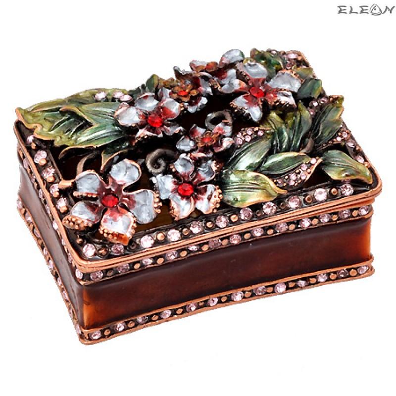 Кутия за бижута кафява JN0101