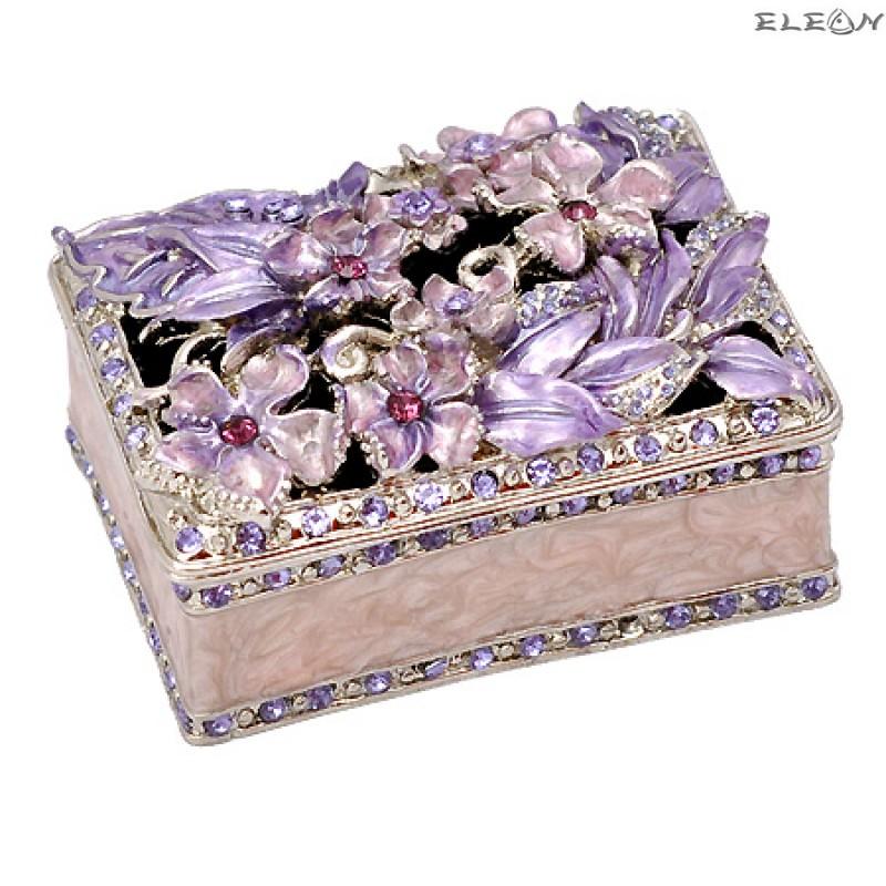 Кутия за бижута розова JN0102