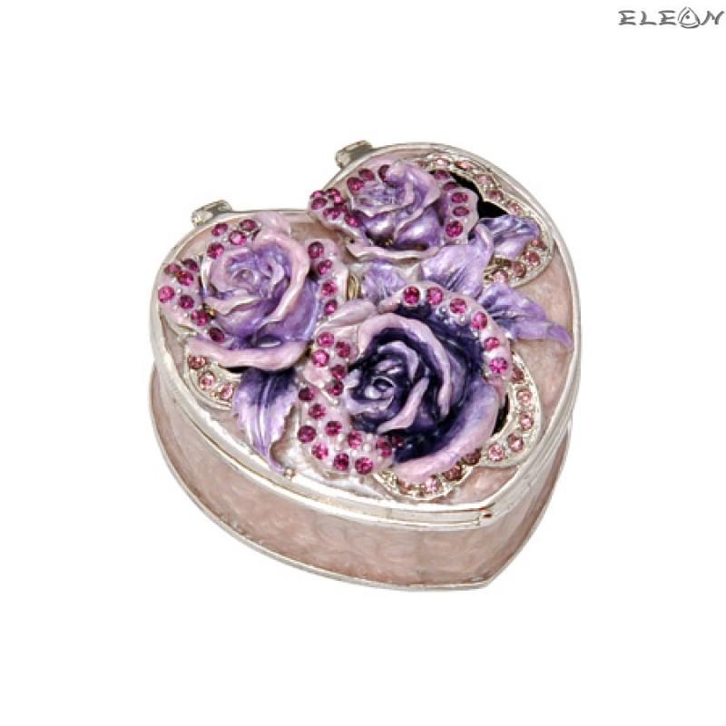 Кутия за бижута роза светла JN0504