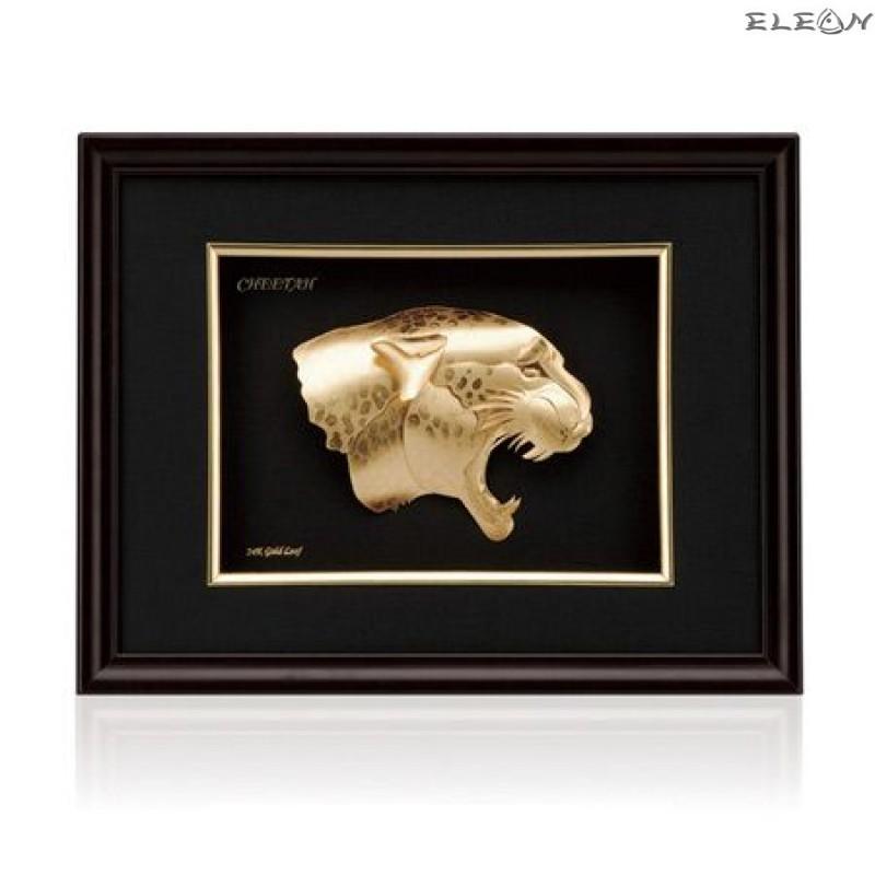 Златна картина ORH10 - Гепард 24 карата