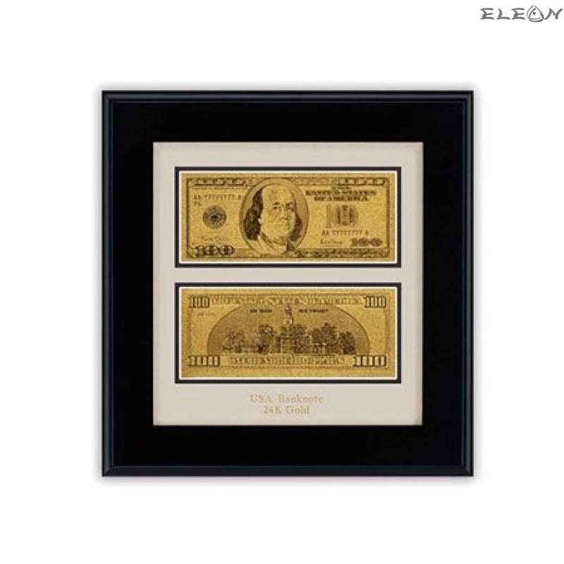 Златна банкнота Долар ORH3 - 24 карата