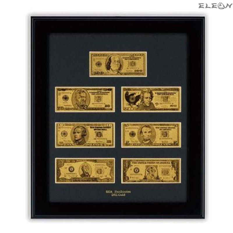 Колекция Златни Банкноти Долар ORH5 - 24 карата