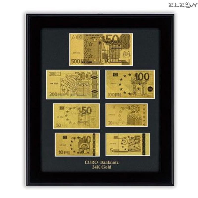 Колекция Златни Банкноти Евро ORH6 - 24 карата