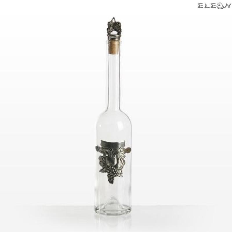 Бутилка за алкохолни напитки от кристално стъкло - плодове