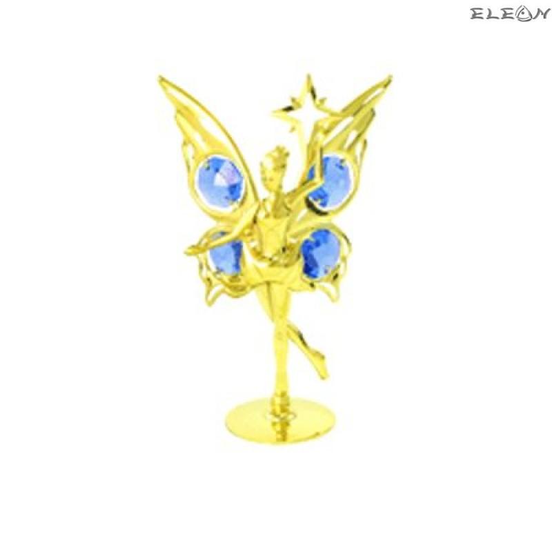 Crystocraft Балерина Злато - Swarovski Crystal RY037