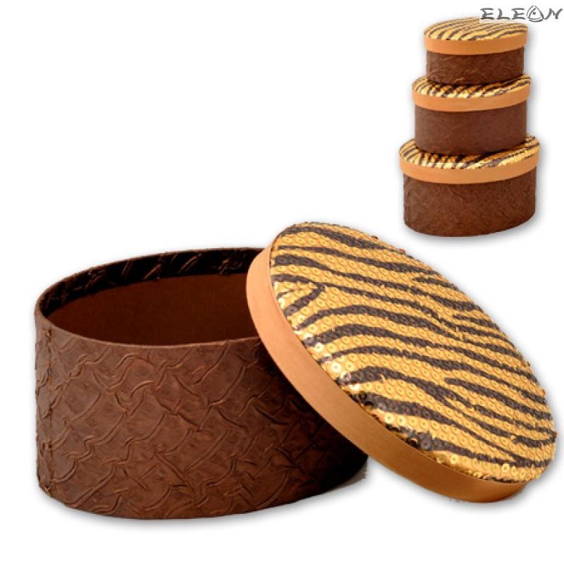 Кутии за бижута Tiger - к-т от 3 броя S0642
