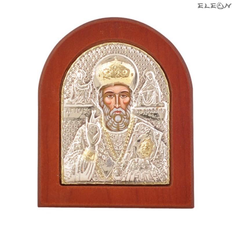 Икона Св.Николай Чудотворец - злато