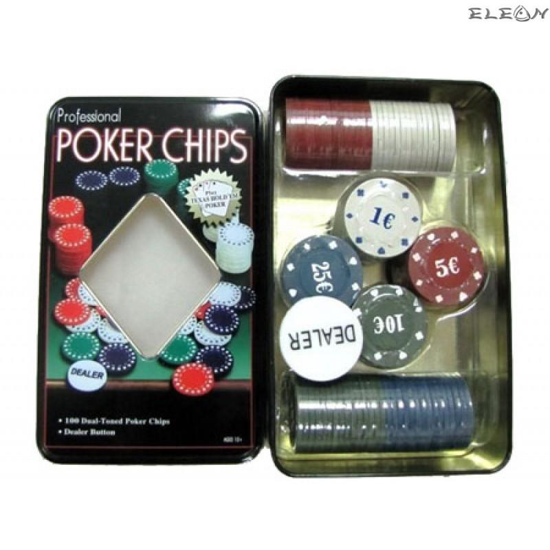 ПОКЕР сет от 100 чипа - 2841