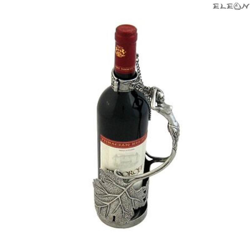 Стойка за вино изработена от пютър WS173