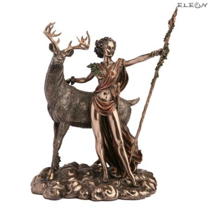 Статуетка богиня Дияна с елен - Veronese WU70