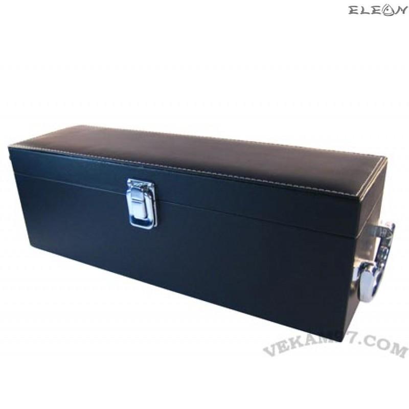 Кутия за вино лукс с кожа - 113