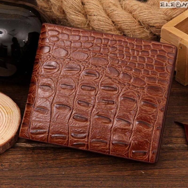 Мъжки портфейл от еко кожа - croco