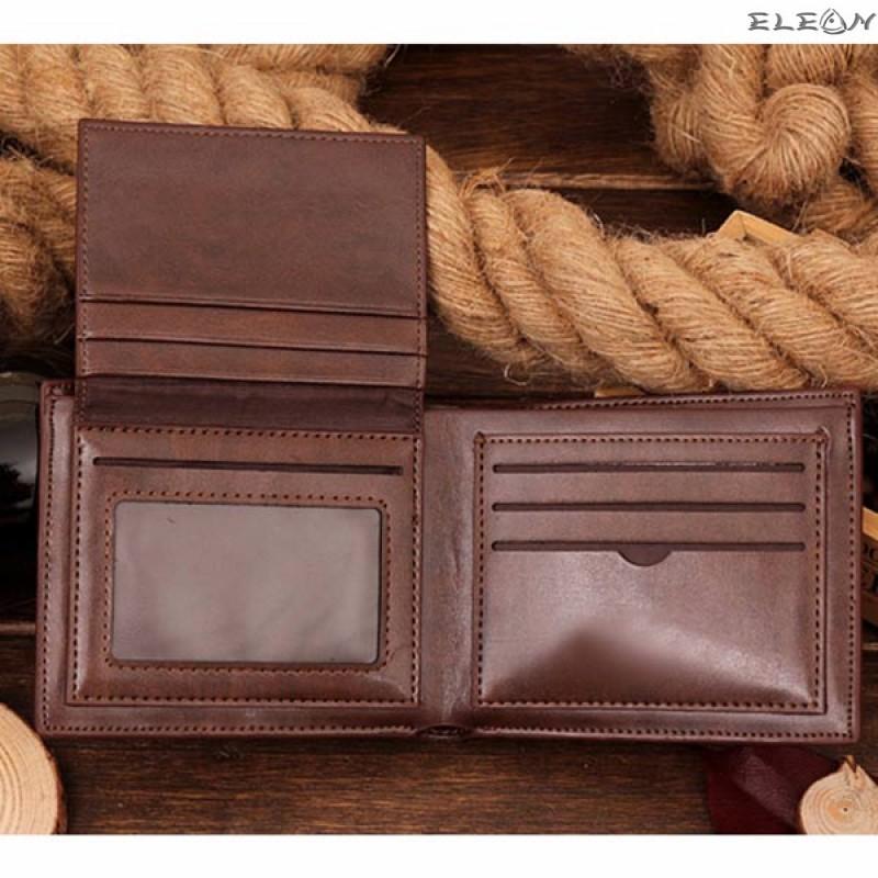 Кожен унисекс портфейл от еко кожа - croco