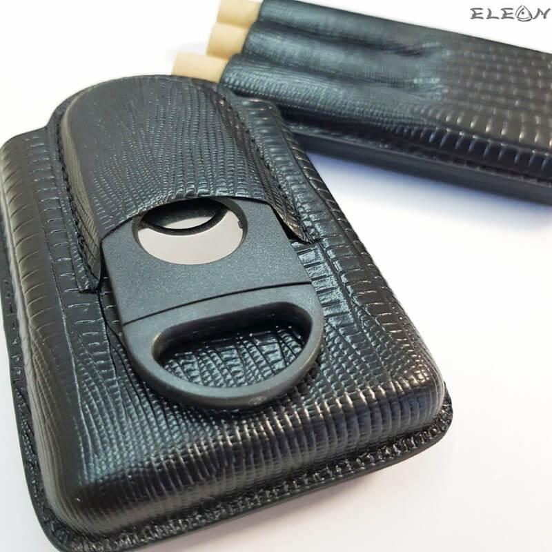 Калъф за пури с резачка