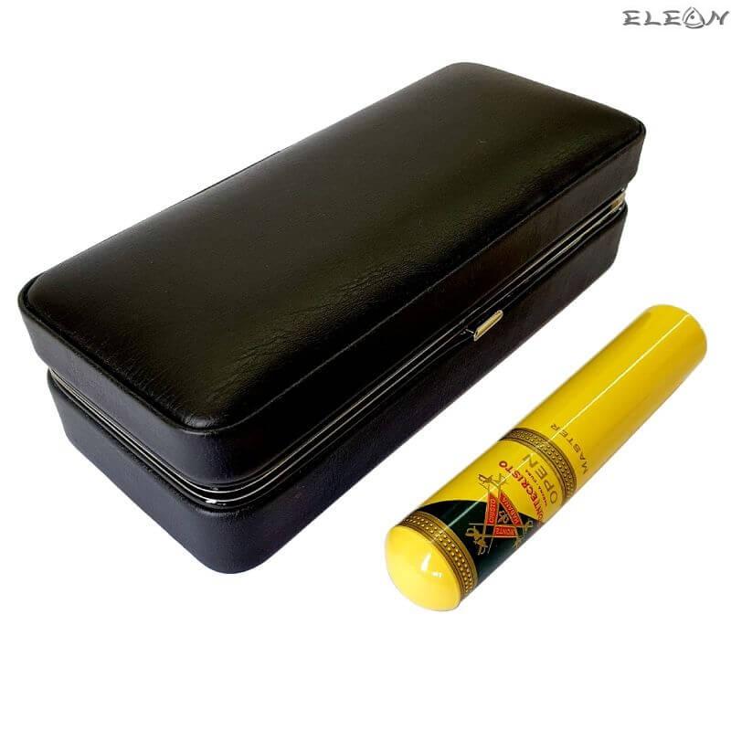 Хумидор за пътуване с резачка за пури