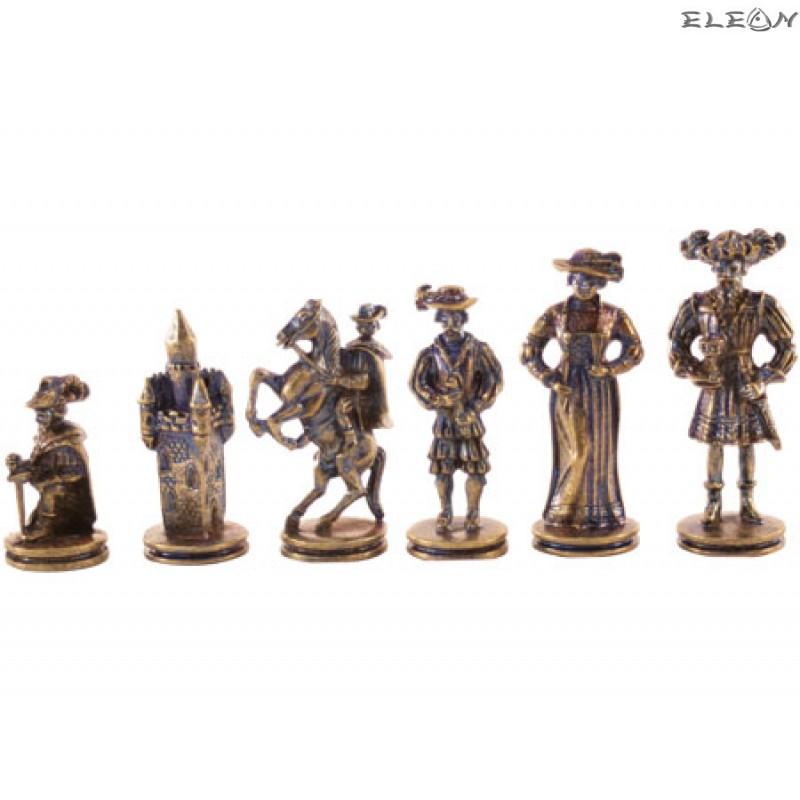Шах с месингови фигури - ROCOCO MA5100