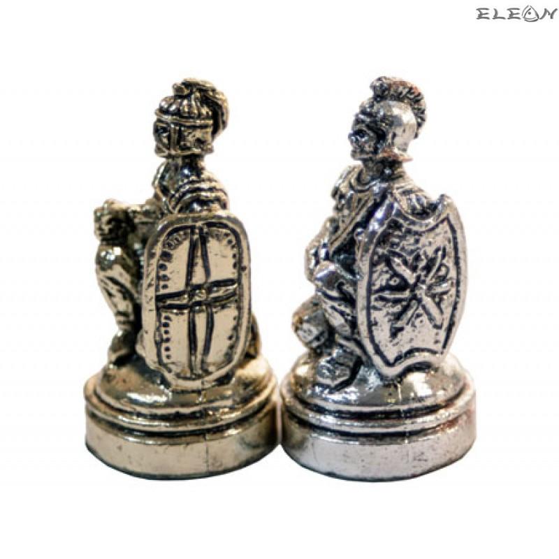 Шах с месингови фигури - ТРОЯ MA5180