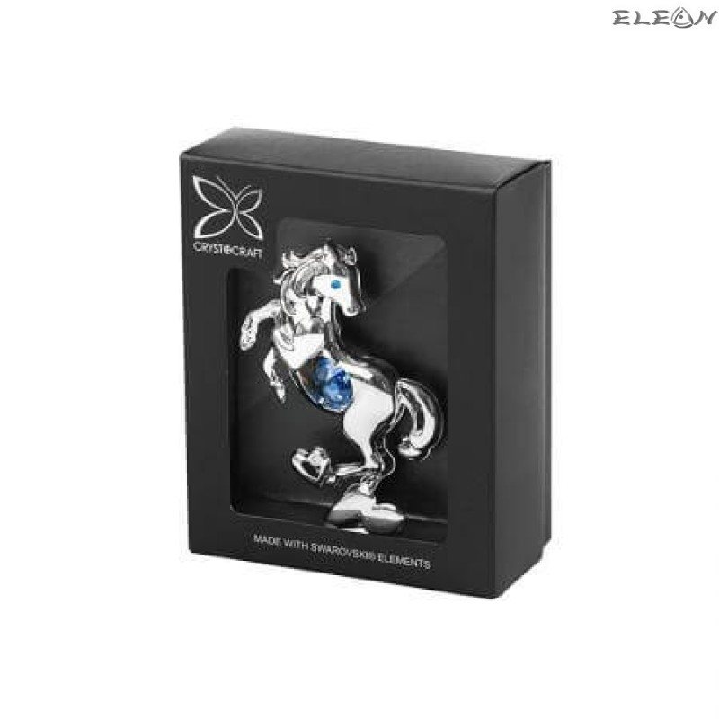 Конче със синьо камъче - Swarovski Crystal RY097
