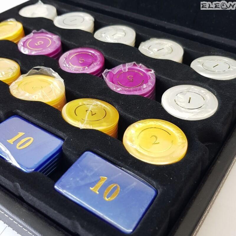 ЧИПОВЕ за покер 95 броя - 8604224