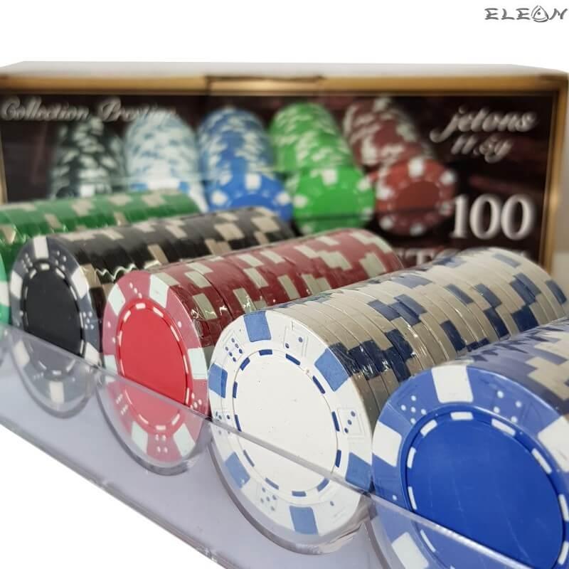 Покер чипове 100 броя