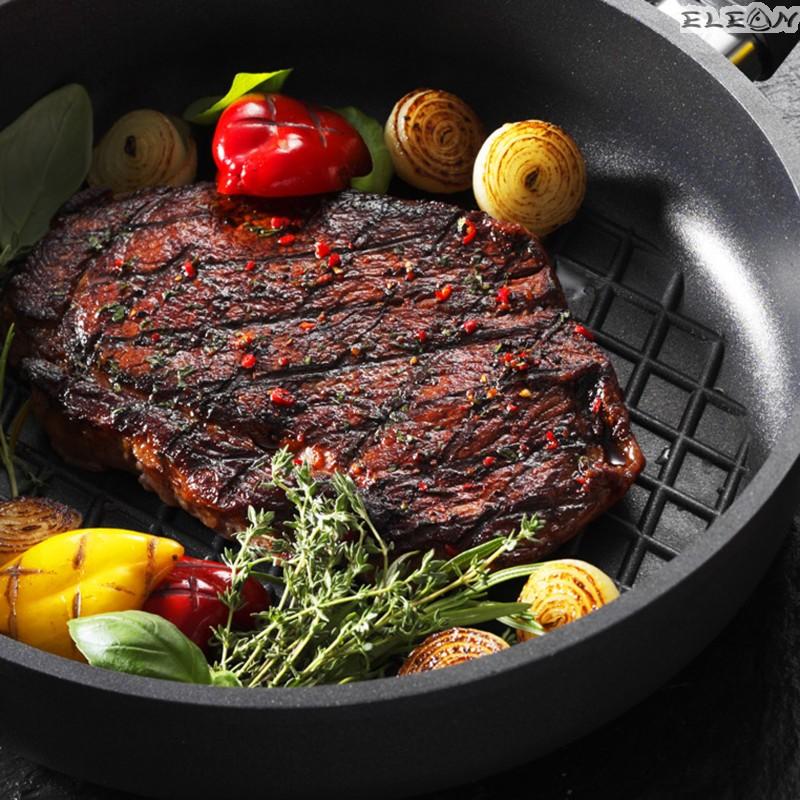 Тава BBQ плитка 5,5см - Ø 28см - SKK