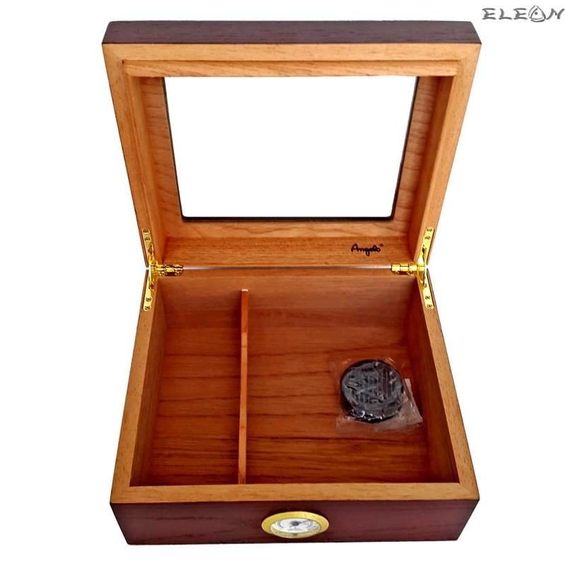 Кутия за пури ANGELO с прозорец - Хумидор 920014
