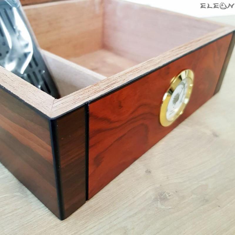 Хумидор - Кутия за пури лукс - подаръци за мъж