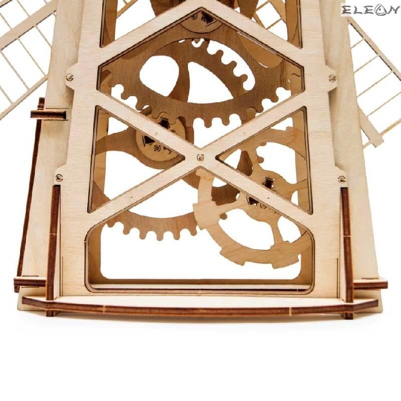 3D пъзел Вятърна Мелница 39см, 76 части
