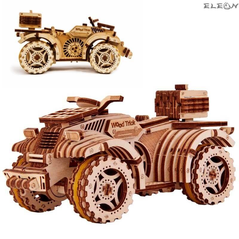 3D пъзел ATV 18см, 165 части