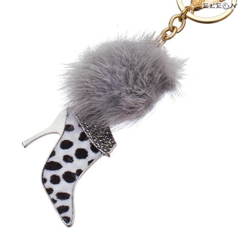 Ключодържател Дамска обувка далматинец