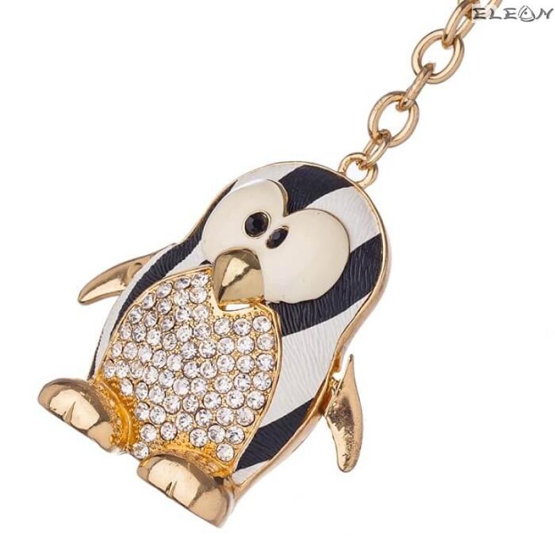 Ключодържател Пингвин gold