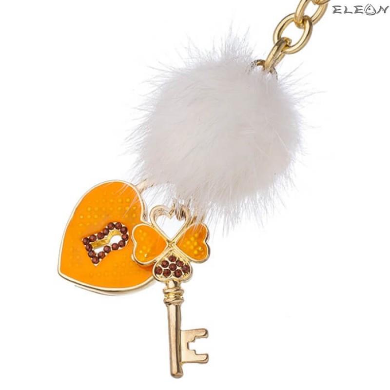Ключодържател Сърце и Ключ GF10
