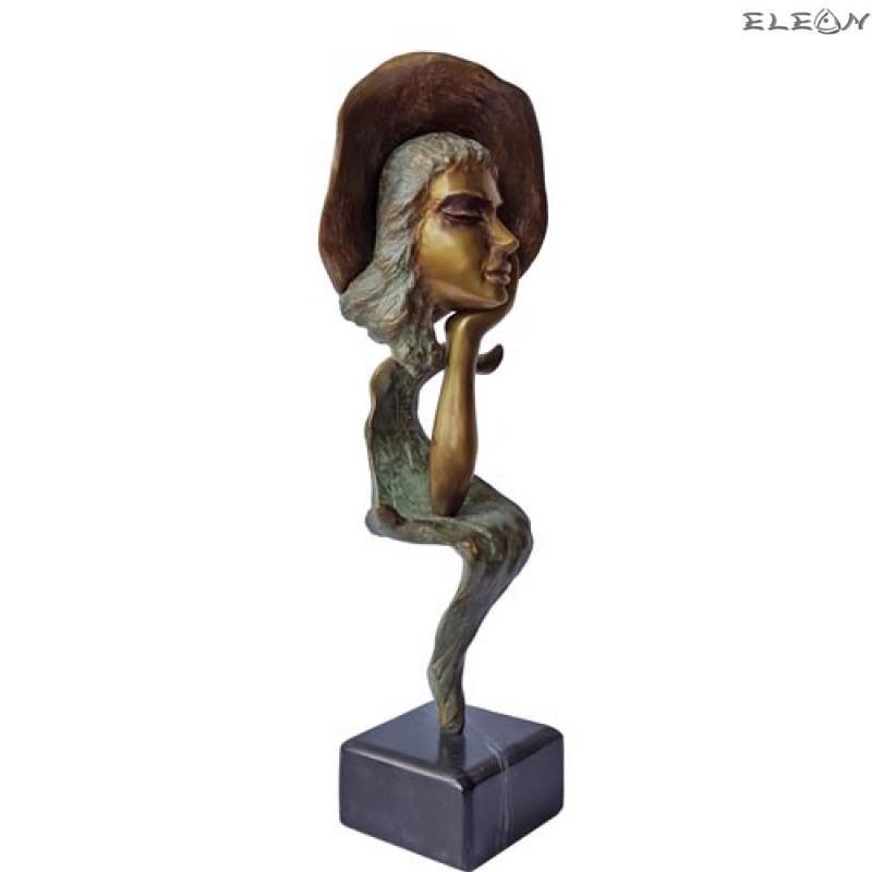 Статуетка от бронз 203 - ЛИЦЕ 25см