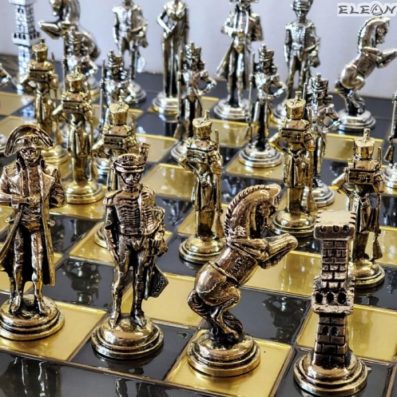 Шах с месингови фигури - НАПОЛЕОН