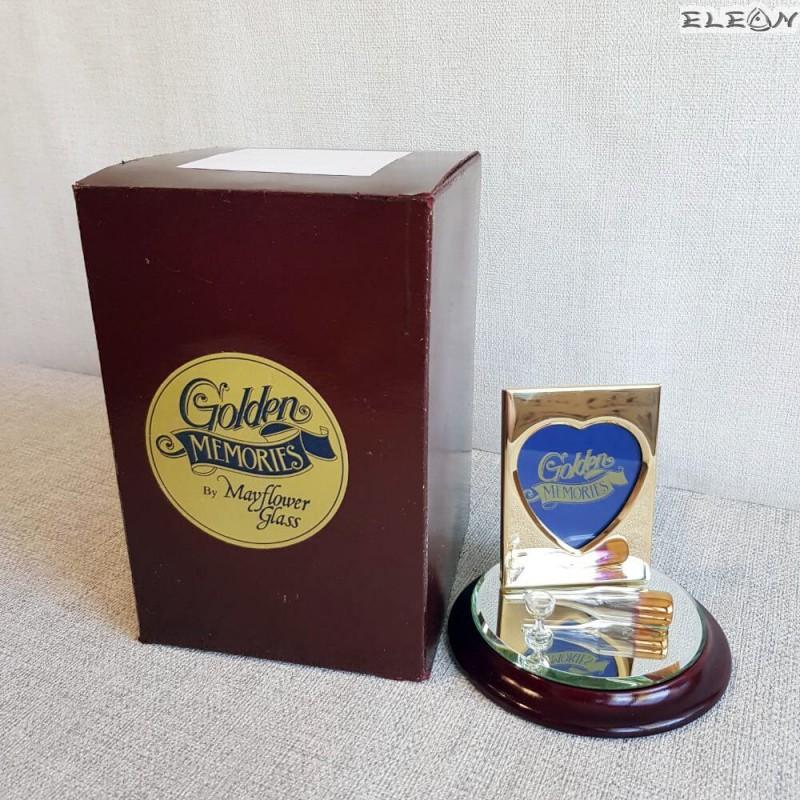 Нестандартен подарък позлатена рамка за снимка - ПЪЛНОЛЕТИЕ, Golden Memories