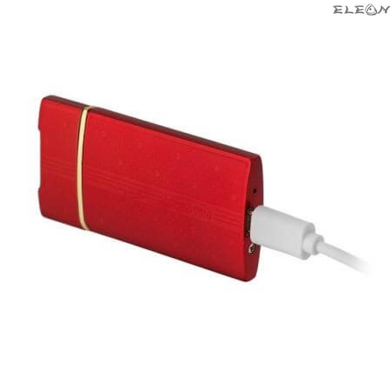 Запалка със сърца, USB зареждане, червена